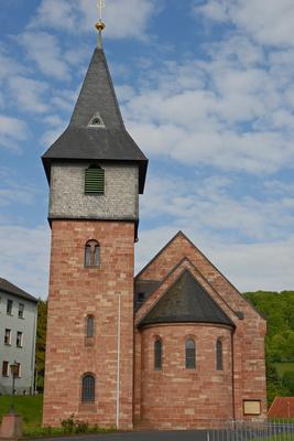Mariä Himmelfahrt-Kirche Sannerz
