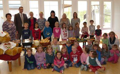 """Aktion """"Fit in den Tag"""" im Kindergarten Rappelkiste"""
