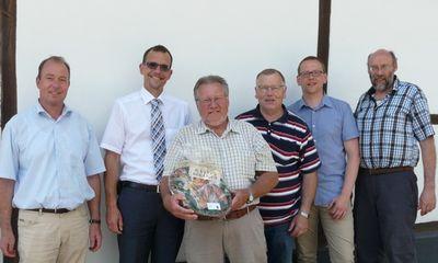 Gemeindearbeiter Harry Schneider feierte 40-jähriges Dienstjubiläum