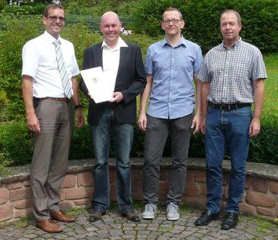 Hans-Dieter Blum seit 25 Jahren im Dienst der Gemeinde