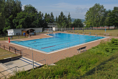 Schwimmbad Sterbfritz