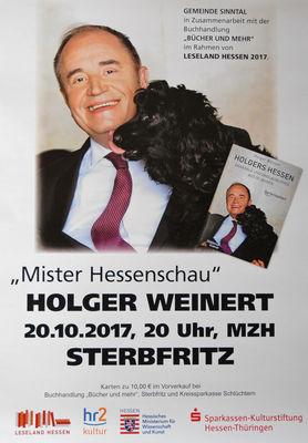 Holger Weinert Plakat